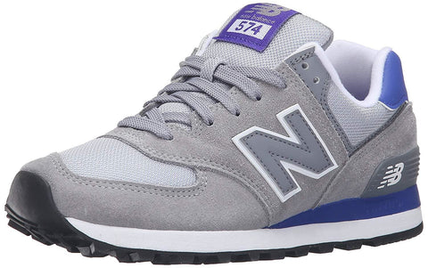 New Balance Women's WL574 CORE PLUS-W Lifestyle Sneaker Steel/Spectral - Shoes - SouqBrands.com