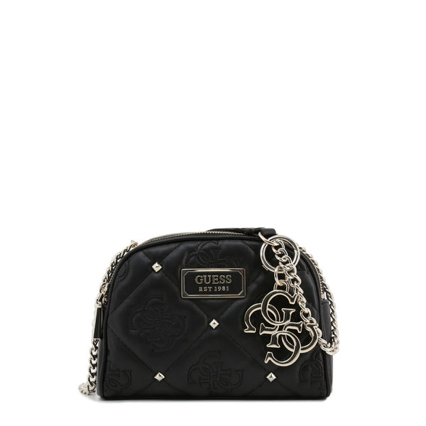 Printed Leather Design With Stud Details & Visible Logos by Guess only 79.99 at girls.co.uk
