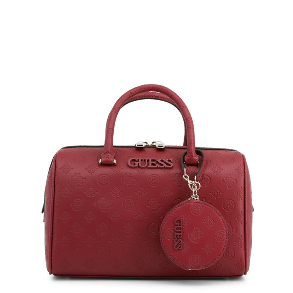Elegant Handbag With Beautiful Printed Leather, Shoulder Strap & Purse by Guess only 99.99 at girls.co.uk