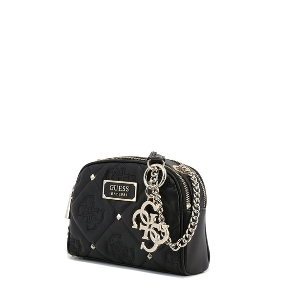 Printed Leather Design With Stud Details & Visible Logos by Guess only  at girls.co.uk