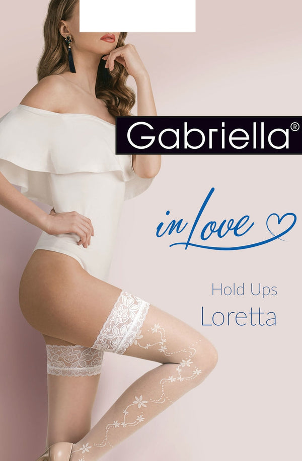Gabriella Gabriella Calze Loretta 477 Bianco Size  () in Color with size Size only 14.99 at girls.co.uk