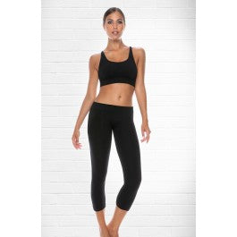 Control Body Sport 610253 Nero 3/4 Leggings by Control Body only 26.99 at girls.co.uk