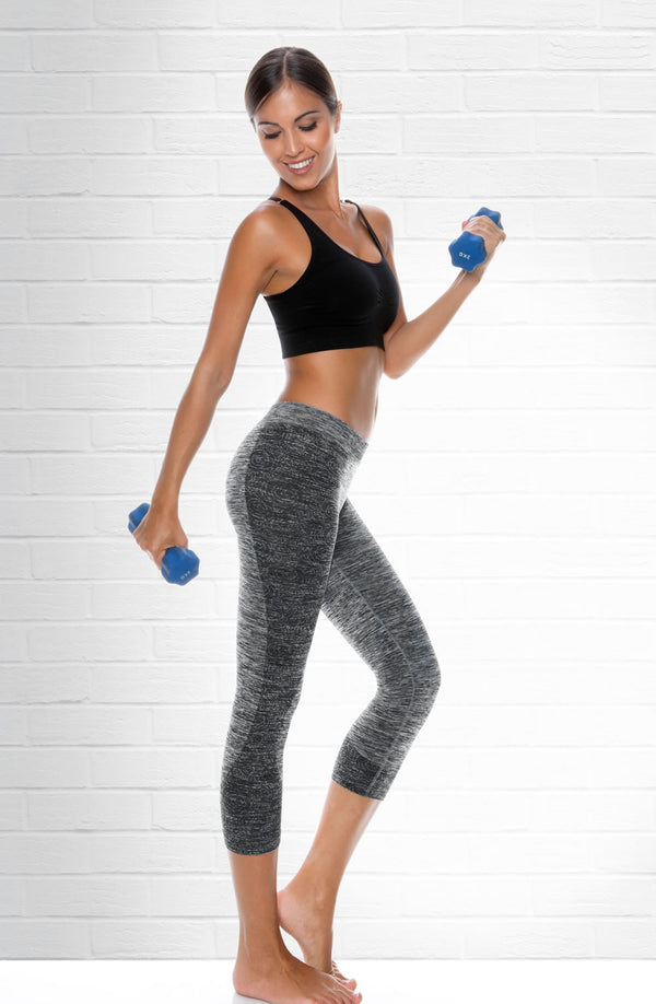 Control Body Control Body Sport 610254 elange 3/4 Leggings in Color with size Size only 26.99 at girls.co.uk
