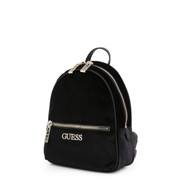 Synthetic Backpack with Branded Design by Guess only  at girls.co.uk