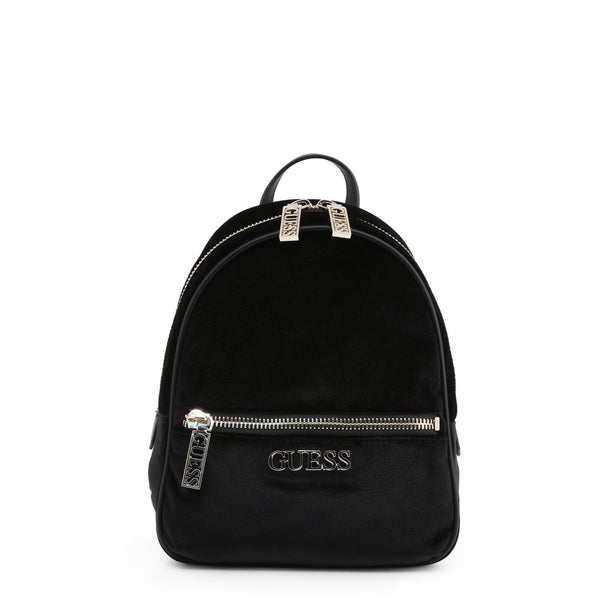 Synthetic Backpack with Branded Design by Guess only 89.99 at girls.co.uk