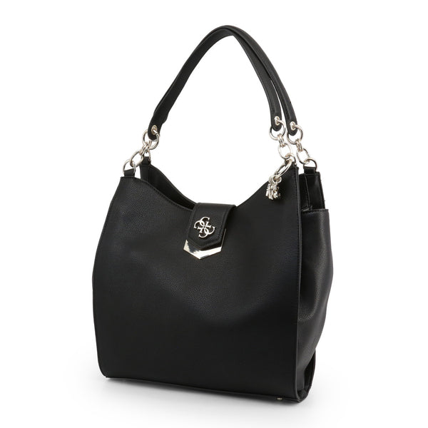 Magnetic Closure Shoulder Bag With Visible Logo Design by Guess only 109.99 at girls.co.uk