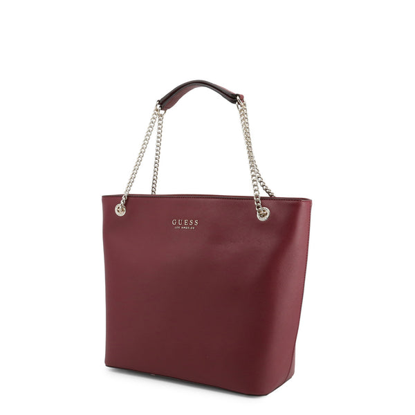 Stunning Handbag With Chain Link Handle Design by Guess only  at girls.co.uk