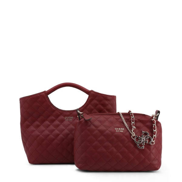 Stunning Leather Bag With Removable Pochette by Guess only 99.99 at girls.co.uk