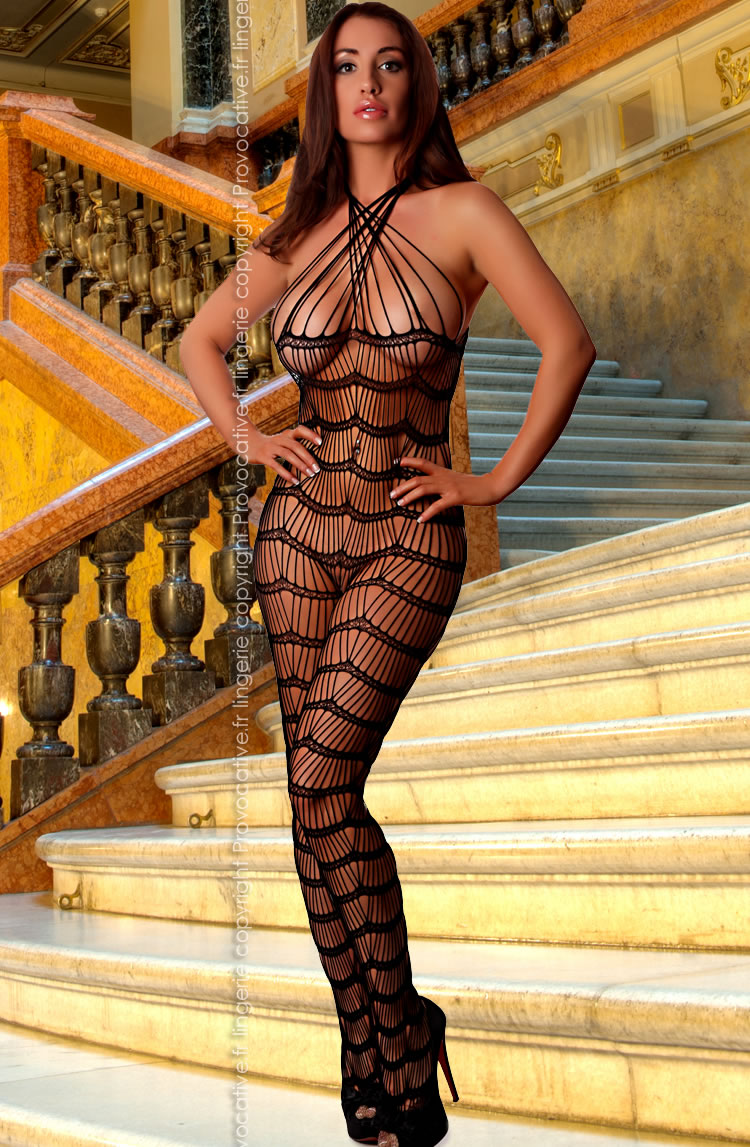 Provocative PROVOCATIVE PR4188 Bodystocking S-L in Color with size Size only  at girls.co.uk