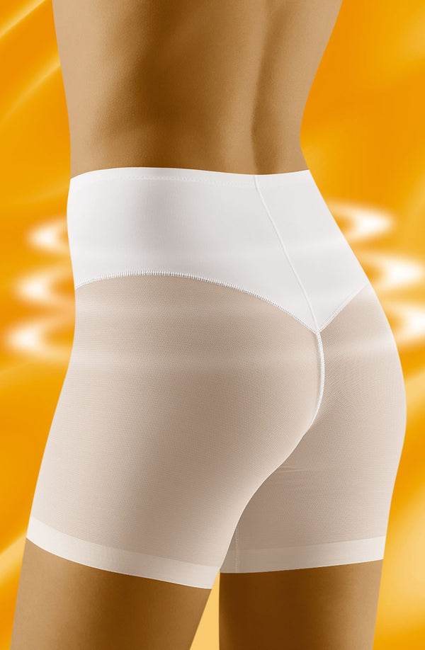 Relaxa Lower Stomach & Thigh Shapewear White