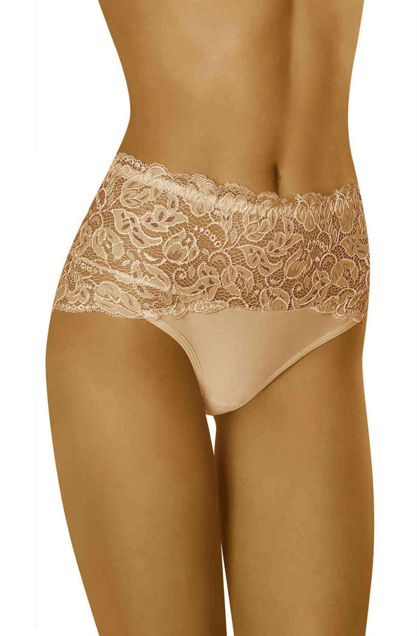 Floral Lace Scalloped Briefs