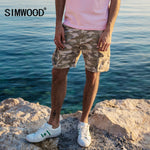 SIMWOOD 2018 Summer New Camouflage Cargo Shorts Men Slim Fit
