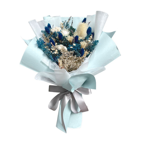 Royal Sapphire Preserved Bouquet