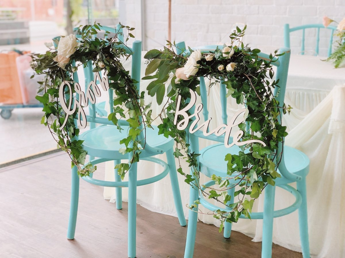 Tiffany Chairs for Wedding with Beautiful Decor