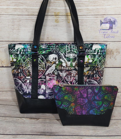 A Great Pattern Duo for Beginning Bagmakers - The Cici Tote and Cici Too