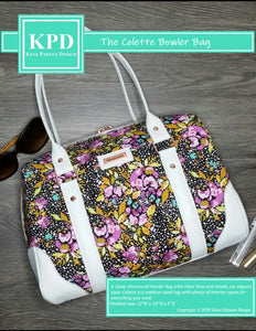 The Colette Bowler Bag Digital Pattern