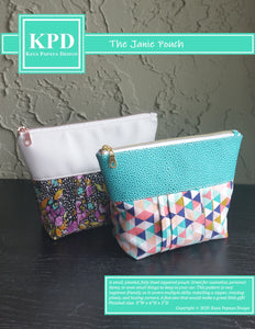 The Janie Pouch Digital Pattern