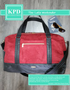The Laila Weekender Digital Pattern