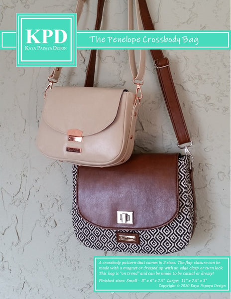 The Penelope Crossbody Bag Digital Pattern