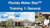 Florida Water Star Training 1: General