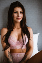 Load image into Gallery viewer, pink floral bra