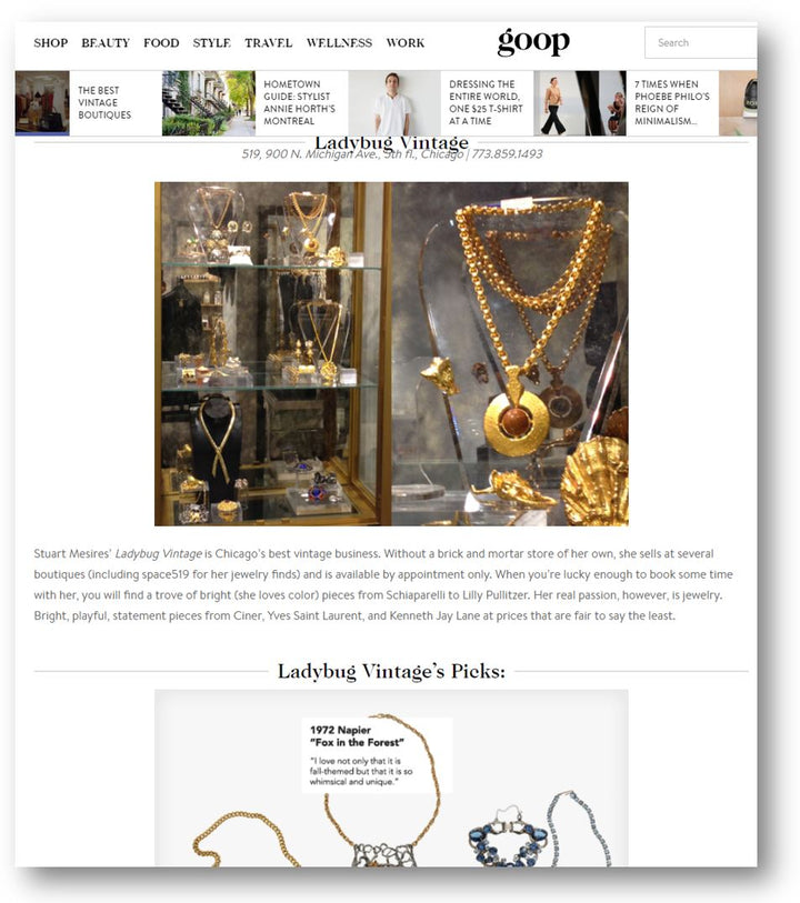 Goop Loves the Ladybug Vintage Collection