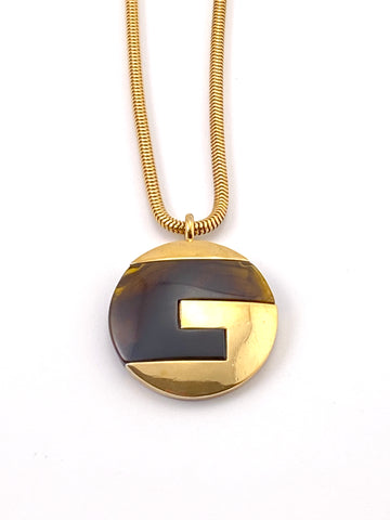 1970s Givenchy Pendant Necklace