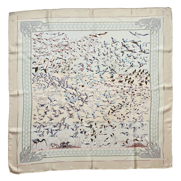 Hermes Silk 'Libres Commes L'Air' Scarf