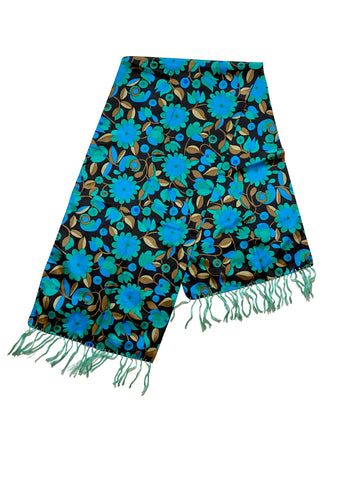 1960s Liberty of London Scarf with Tassel
