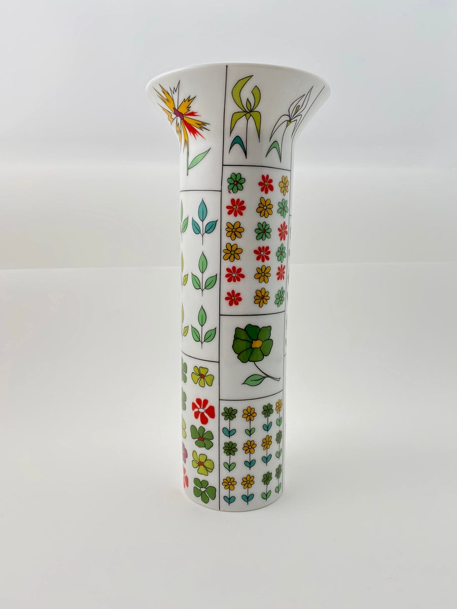 1960s Emilio Pucci Vase For Rosenthal Germany