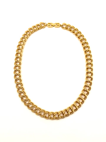 1980s Givenchy Double Chain Necklace