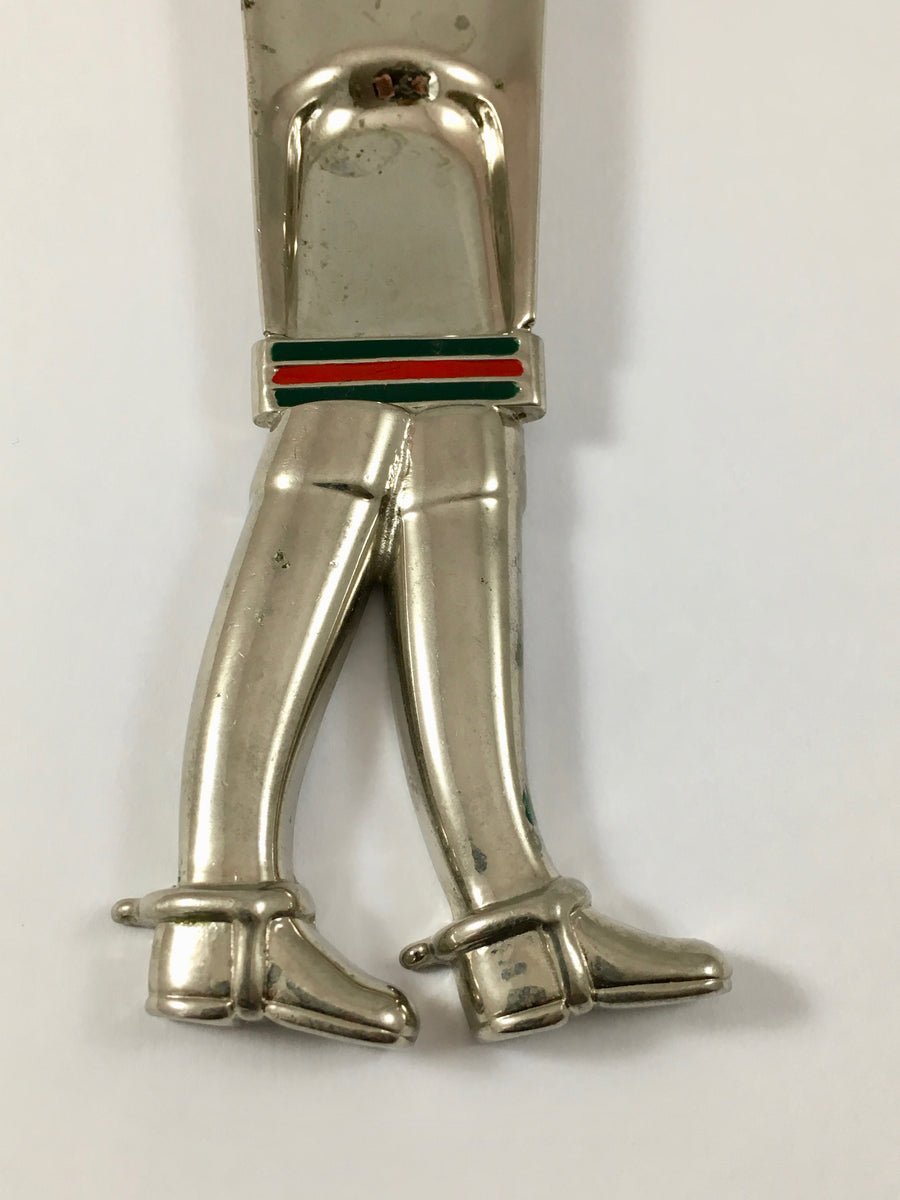 Gucci Shoe Horn Equestrian Boots 1980s