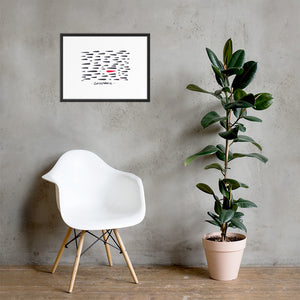 Entrepreneur by Alex Charfen Framed poster