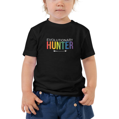 Evolutionary Hunter Pride Toddler Short Sleeve Tee