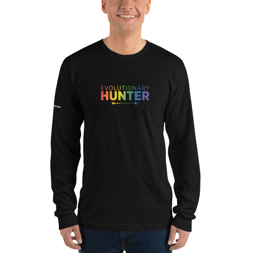 Evolutionary Hunter Pride Long sleeve t-shirt