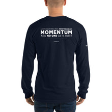 Load image into Gallery viewer, MOMENTUM Long sleeve t-shirt