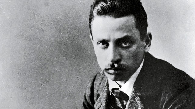 Happy 144th Birthday to Rainer Maria Rilke!