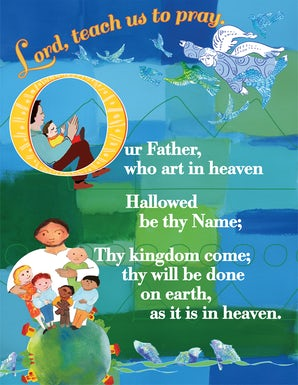 Lord's Prayer Card - Catholic (25 pack)