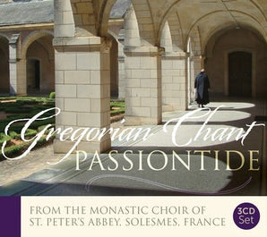 Chants for Passiontide Set: Maundy Thursday & Tenebrae of Good Friday with Solesmes