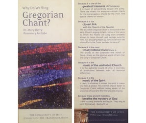 Why Do We Sing Gregorian Chant? (Pack of 25)