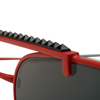 GATES SUNGLASSES | RED/GREY