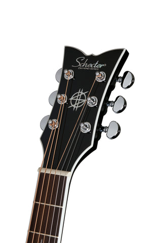 Synyster Gates Autographed Acoustic Guitar Gloss Black