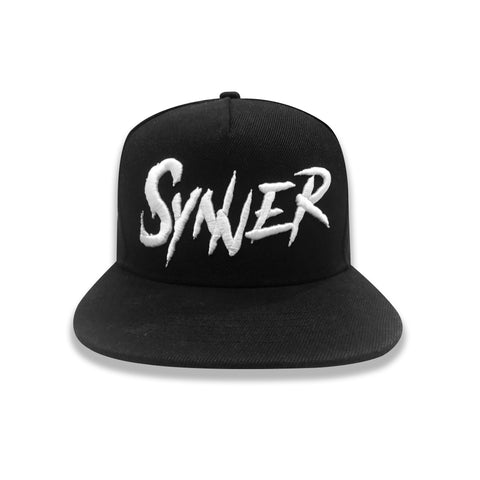 Raised Synner Snapback Hat