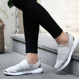 Metallic Accent Casual Sneakers