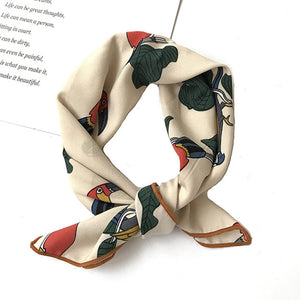 Bird Square Scarf