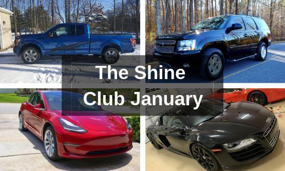 Our Favorite Cars From January - The Shine Club