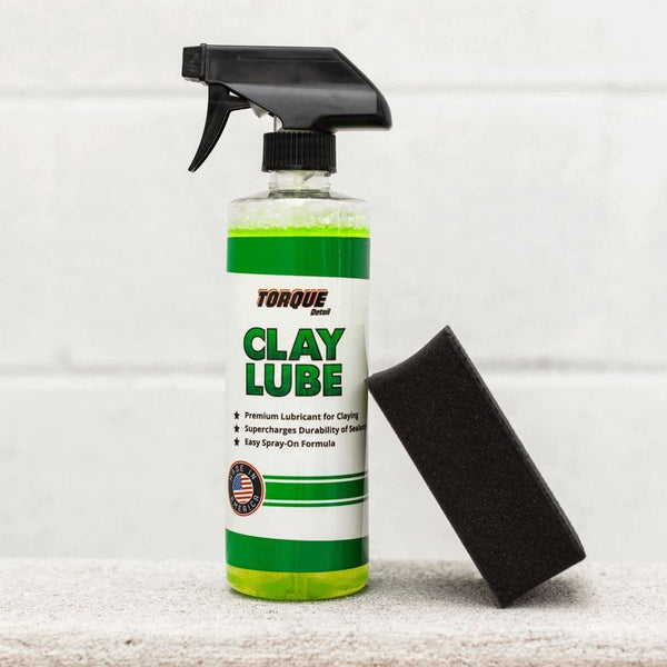 Clay Decon Kit - Clay Lube and Reusable Clay Pad Torque Detail