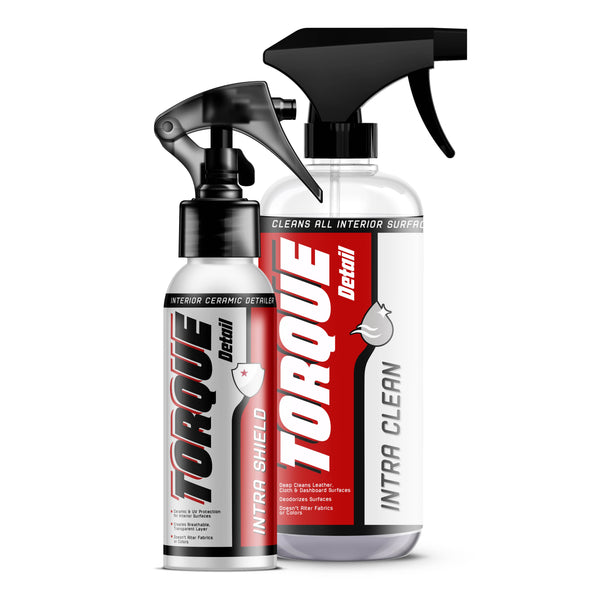 Interior Kit: Intra Clean (16oz) and Intra Shield with Ceramic (8oz) Torque Detail