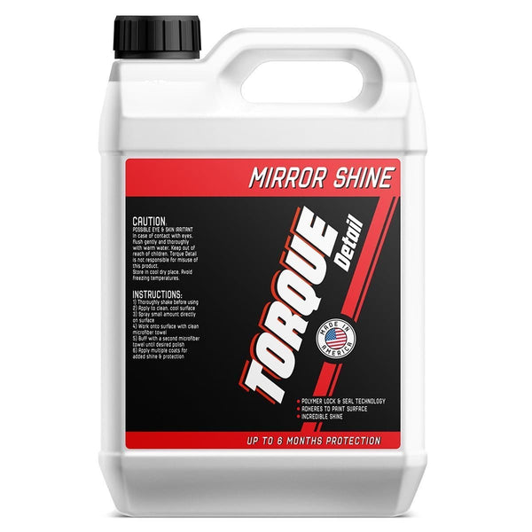 Mirror Shine™ - Super Gloss Hybrid Wax Spray & Sealant - 1 Gallon / 128oz (Refill) - 60% OFF Total Bottle Price Frank from Torque Detail™