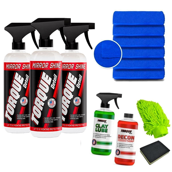 Pro-Detailer Bundle - Complete Car Detailing Kit Torque Detail